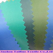 100% poliéster oxford tecido pu revestido 42 cores disponíveis grande quantidade em estoque