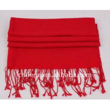 écharpes en laine couleur unie pashmina