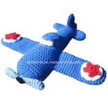 Hand Crochet Airplane Plane Aeroplane Amigurumi Toy