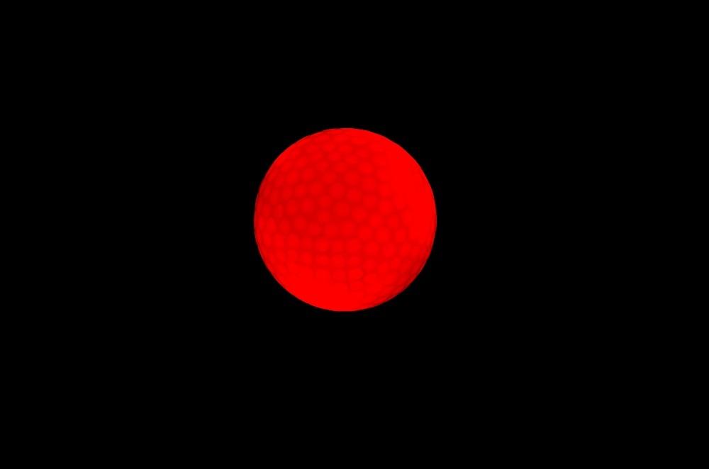 LED Glow Red Balls