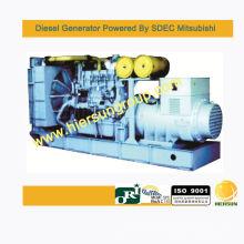 Generador diesel en espera Mitsubishi 1600KW / 2000KVA