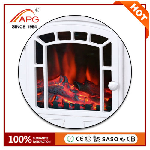 APG Decor Flame Chimenea eléctrica montada en la pared