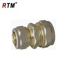 latão de redução de latão para tubos de multicamadas latão de redução de mamilos de compressão para conexões de tubos de múltiplas camadas
