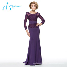 Chiffon Tulle Pleat Sashes Long Sleeve Mother Of The Bride Dresses