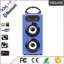 BBQ KBQ-606 meistverkaufte Bluetooth Lautsprecher mit LED bunten Disco Licht