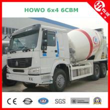 Caminhão concreto móvel 6cbm para a venda
