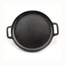 Pre-Seasoned Cast Iron Baking Skillet Griddle Pizza Pan