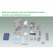 Sintered strong strip magnetize permanent magnets