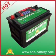 Bateria 2015 do veículo da bateria de carro auto DIN66-Mf-66ah 12V