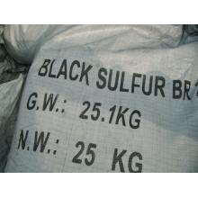 Azufre negro (teñido de textiles)