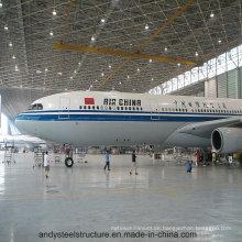Stahlstruktur Raumrahmen für Hangar Warehouse
