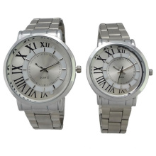Nouvelle montre à quartz en acier inoxydable de style Hl-Bg-080