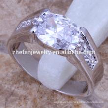 Anillos de plata de los hombres anillos de compromiso gay joyas de bronce