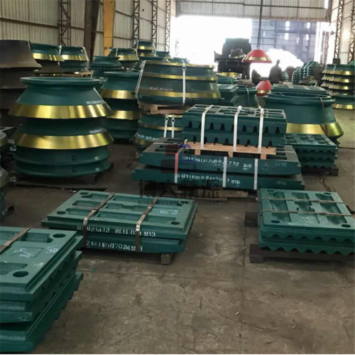 Metsos C106 Jaw Crusher Wear Parts Jaw Plate