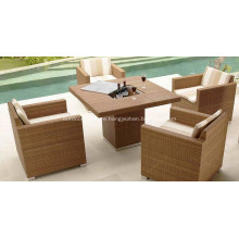 Outdoor Modern Furniture Designer Dining Room Set