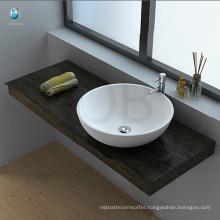 Table top acrylic resin stone bathroom sink price