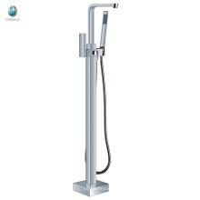 KFT-08 precio competitivo toillet accesorio de hardware multifuncional de una manija piso bañera grifo