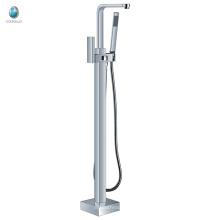 KFT-08 prix concurrentiel toillet matériel accessoire multifonctionnel poignée unique sol debout baignoire robinet