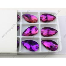 Dz-3065 Drop de haute qualité dos plat coudre sur des pierres de rose