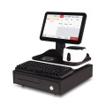 Kapazitiver Single-Touch-Bildschirm-POS mit Kartenleser