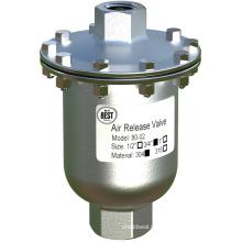 Válvula de liberação de ar inoxidável DN20