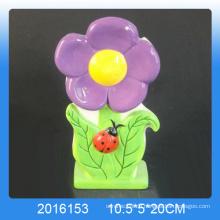 Populärer Blumenentwurf keramischer Luftbefeuchter für Raum