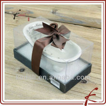 Рождественский подарок фарфор керамический мини ванны мыльница мыльница