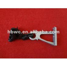 raccord de câble, pince de suspension en aluminium XG-2