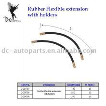 Extensão flexível de borracha de roda