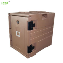 Plastic Food Protect Insulated Cabinet End Loading Insulated Food Pan Carriers