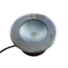 Fábrica de Shenzhen de alta potencia 10W LED lámpara subterránea de acero inoxidable al aire libre
