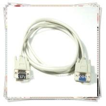 Высококачественный белый VGA штекерный кабель с 15-контактным монитором