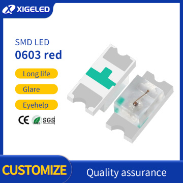 SMD LED 0603 high brightness lamp beads