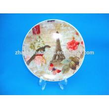 Placa de cerámica personalizada China de la fábrica