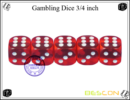 Casino Dice 19MM