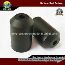 ЧПУ пластмасса подвергли части механической обработке, CNC Повернутые части для черный Делрин