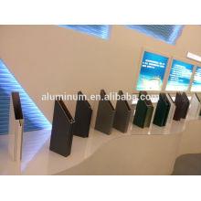 Fabricação de perfis de parede de cortina de alumínio