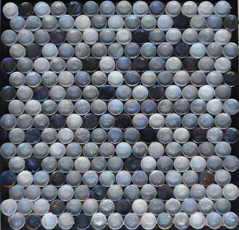 Round Single Glass Mosaic
