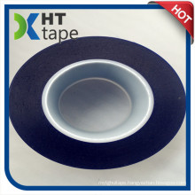 0.08mm Blue Surface Protection Tape PVC Film Die Cutting Tape