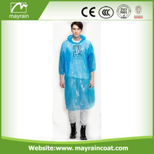 Blue Emergency PE Adult Raincoat