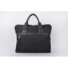 Durable Black Ballistic Nylon Long Wear Laptop Briefcase