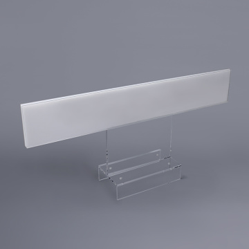 Support de panneau de table en plastique transparent en gros