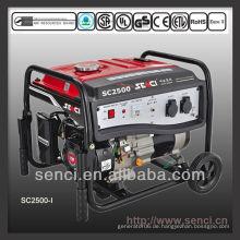 2200 Watt SC2500-I 50Hz Einphasen-Benzin-tragbarer Generator