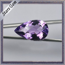 MID-Purple Tear Drop Natural Amethyst Piedra semipreciosa