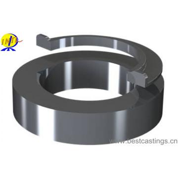 Bague de serrage en acier inoxydable avec coulée centrifuge