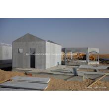Maisons préfabriquées de panneaux isolés structurels de fibrociment