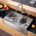 American cUpc Farmhouse Stainless Steel Apron Front Kitchen Sink for US