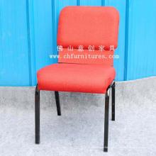 Cadeira de mobília de igreja de tecido vermelho (YC-G37-01)