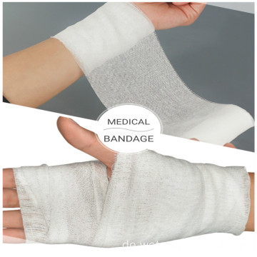 Medical Surgical Flexible Gaze Hämostase Bandage