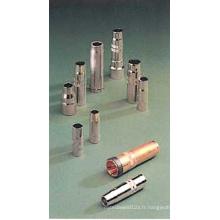 Buse conique/cylindrique/conique pour MIG torche de soudage